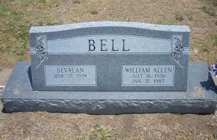 BELL, WILLIAM ALLEN - Stevens County, Kansas   WILLIAM ALLEN BELL - Kansas Gravestone Photos