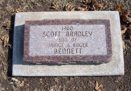 BENNETT, SCOTT BRADLEY - Stevens County, Kansas   SCOTT BRADLEY BENNETT - Kansas Gravestone Photos