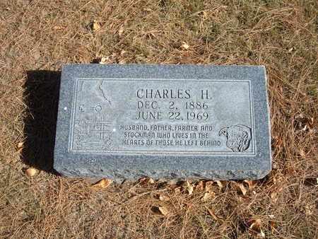 BILBERY, CHARLES H - Stevens County, Kansas | CHARLES H BILBERY - Kansas Gravestone Photos