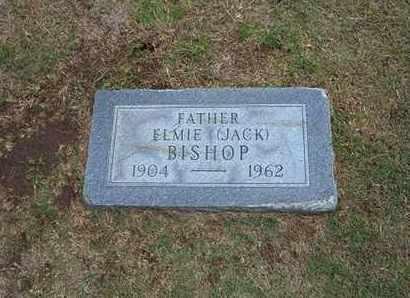 "BISHOP, ELMIE ""JACK"" - Stevens County, Kansas | ELMIE ""JACK"" BISHOP - Kansas Gravestone Photos"