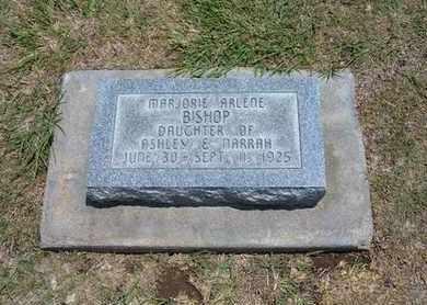 BISHOP, MARJORIE ARLENE - Stevens County, Kansas | MARJORIE ARLENE BISHOP - Kansas Gravestone Photos