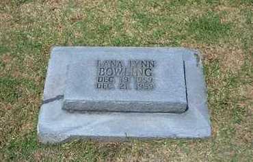BOWLING, LANA LYNN - Stevens County, Kansas | LANA LYNN BOWLING - Kansas Gravestone Photos