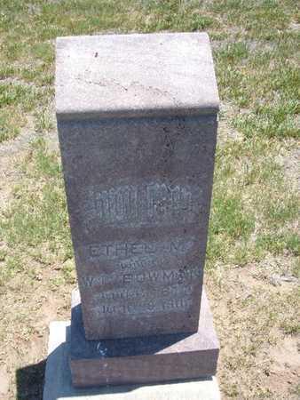 BOWMAN, ETHEL - Stevens County, Kansas   ETHEL BOWMAN - Kansas Gravestone Photos