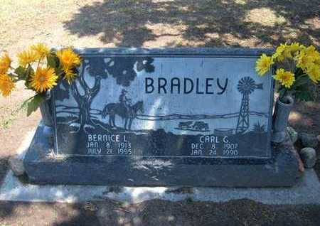 BRADELY, BERNICE L - Stevens County, Kansas | BERNICE L BRADELY - Kansas Gravestone Photos