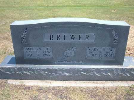 BREWER, GARY EUGENE - Stevens County, Kansas | GARY EUGENE BREWER - Kansas Gravestone Photos