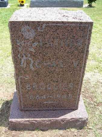 BROLLIER, CHARLES V - Stevens County, Kansas   CHARLES V BROLLIER - Kansas Gravestone Photos