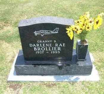 "SNYDER BROLLIER, DARLENE RAE ""GRANNY B"" - Stevens County, Kansas | DARLENE RAE ""GRANNY B"" SNYDER BROLLIER - Kansas Gravestone Photos"