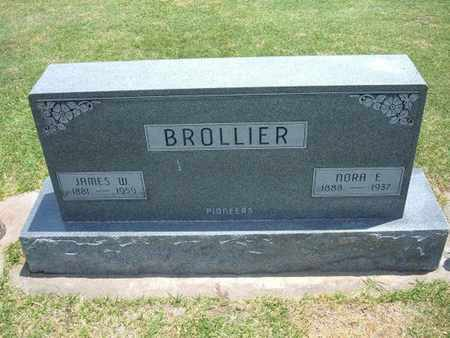 BROLLIER, JAMES WARREN - Stevens County, Kansas | JAMES WARREN BROLLIER - Kansas Gravestone Photos