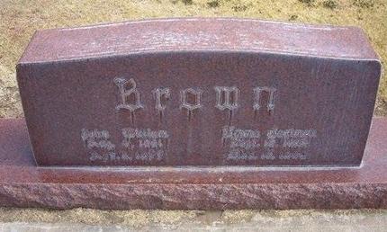 BROWN, EMMA - Stevens County, Kansas   EMMA BROWN - Kansas Gravestone Photos