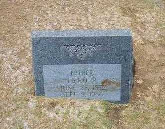 BROWNELL, FRED R - Stevens County, Kansas | FRED R BROWNELL - Kansas Gravestone Photos
