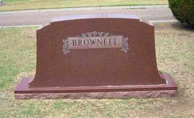 BROWNELL FAMILY GRAVESTONE,  - Stevens County, Kansas |  BROWNELL FAMILY GRAVESTONE - Kansas Gravestone Photos