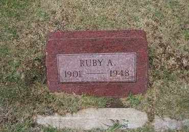BROWNELL, RUBY A - Stevens County, Kansas | RUBY A BROWNELL - Kansas Gravestone Photos