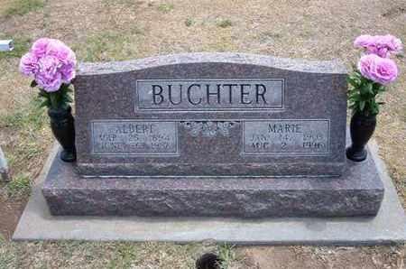 BUCHTER, ALBERT - Stevens County, Kansas | ALBERT BUCHTER - Kansas Gravestone Photos