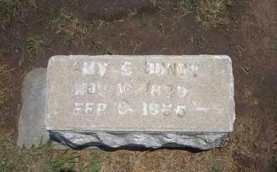 BUNDY, AMY ELLEN - Stevens County, Kansas | AMY ELLEN BUNDY - Kansas Gravestone Photos