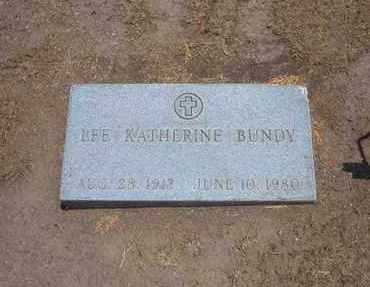 BUNDY, LEE KATHERINE - Stevens County, Kansas | LEE KATHERINE BUNDY - Kansas Gravestone Photos