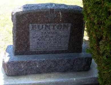 BUNTON, SAMMIE - Stevens County, Kansas | SAMMIE BUNTON - Kansas Gravestone Photos