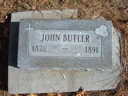 BUTLER, JOHN - Stevens County, Kansas | JOHN BUTLER - Kansas Gravestone Photos