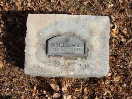CADMAN, INFANT - Stevens County, Kansas | INFANT CADMAN - Kansas Gravestone Photos