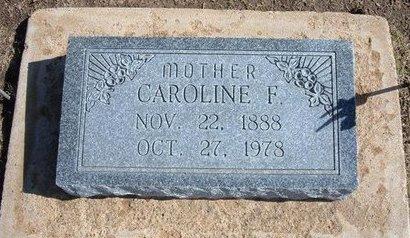 CAMPBELL, CAROLINE F - Stevens County, Kansas   CAROLINE F CAMPBELL - Kansas Gravestone Photos