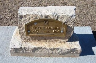 CAMPBELL, KELLY - Stevens County, Kansas | KELLY CAMPBELL - Kansas Gravestone Photos