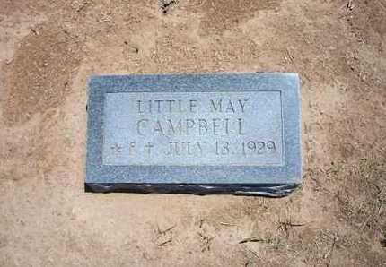 CAMPBELL, MAY - Stevens County, Kansas | MAY CAMPBELL - Kansas Gravestone Photos