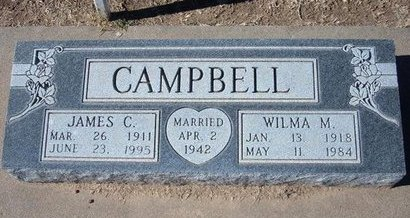 CAMPBELL, WILMA MAY - Stevens County, Kansas | WILMA MAY CAMPBELL - Kansas Gravestone Photos
