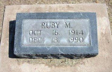 CAMPBELL, RUBY M - Stevens County, Kansas | RUBY M CAMPBELL - Kansas Gravestone Photos