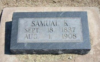 CAMPBELL, SAMUEL K - Stevens County, Kansas | SAMUEL K CAMPBELL - Kansas Gravestone Photos