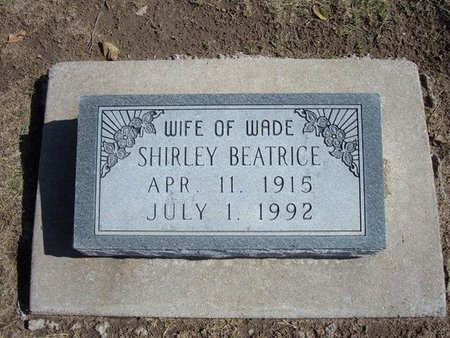CAMPBELL, SHIRLEY BEATRICE - Stevens County, Kansas | SHIRLEY BEATRICE CAMPBELL - Kansas Gravestone Photos