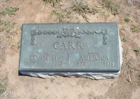 CARR, AMERICA - Stevens County, Kansas | AMERICA CARR - Kansas Gravestone Photos