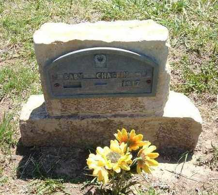 CHAFFIN, BABY - Stevens County, Kansas   BABY CHAFFIN - Kansas Gravestone Photos