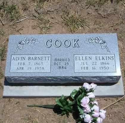 COOK, ELLEN - Stevens County, Kansas | ELLEN COOK - Kansas Gravestone Photos