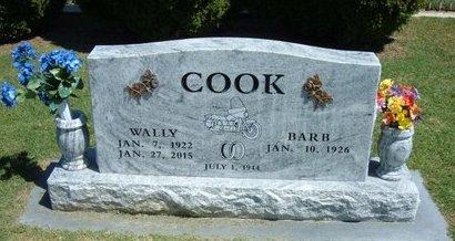 "COOK, WALLACE ""WALLY"" (VETERAN WWII) - Stevens County, Kansas | WALLACE ""WALLY"" (VETERAN WWII) COOK - Kansas Gravestone Photos"