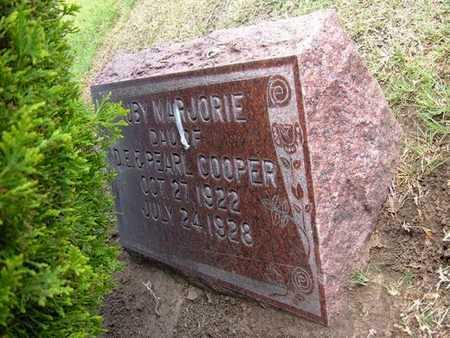 COOPER, RUBY MARJORIE - Stevens County, Kansas   RUBY MARJORIE COOPER - Kansas Gravestone Photos