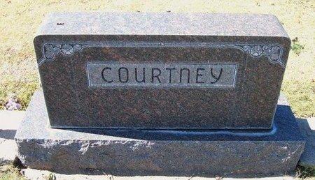 COURTNEY, FAMILY STONE - Stevens County, Kansas | FAMILY STONE COURTNEY - Kansas Gravestone Photos