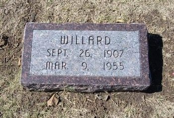 COURTNEY, WILLARD - Stevens County, Kansas   WILLARD COURTNEY - Kansas Gravestone Photos