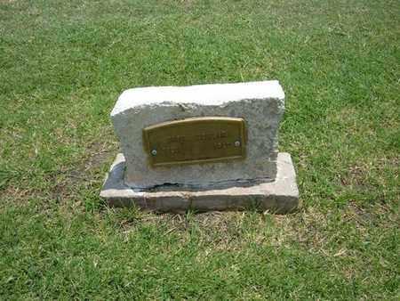 COWSER, BABY - Stevens County, Kansas   BABY COWSER - Kansas Gravestone Photos