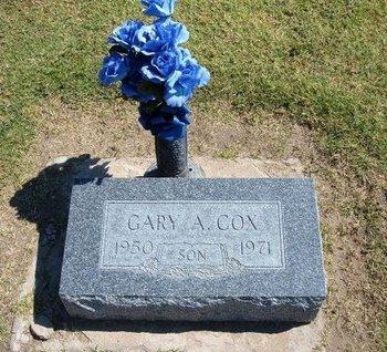 COX, GARY A - Stevens County, Kansas   GARY A COX - Kansas Gravestone Photos