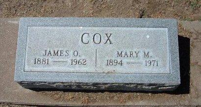 COX, MARY M - Stevens County, Kansas | MARY M COX - Kansas Gravestone Photos