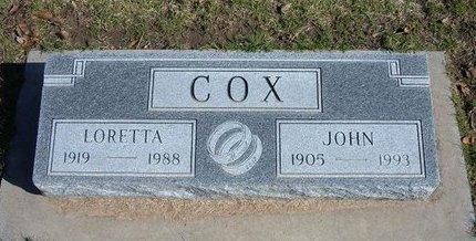 COX, LORETTA CAROLINE - Stevens County, Kansas | LORETTA CAROLINE COX - Kansas Gravestone Photos