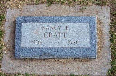 CRAFT, NANCY ELLEN - Stevens County, Kansas | NANCY ELLEN CRAFT - Kansas Gravestone Photos