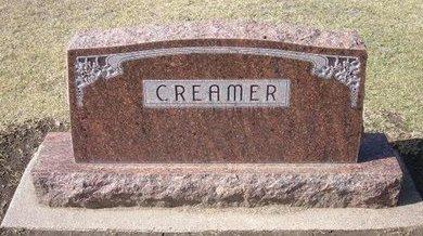 CREAMER, FAMILY STONE - Stevens County, Kansas | FAMILY STONE CREAMER - Kansas Gravestone Photos