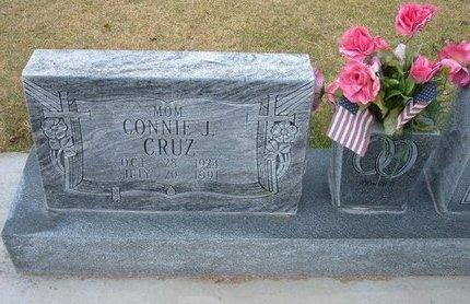 CRUZ, CONNIE J - Stevens County, Kansas | CONNIE J CRUZ - Kansas Gravestone Photos