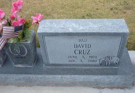 CRUZ, DAVID - Stevens County, Kansas   DAVID CRUZ - Kansas Gravestone Photos
