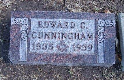 CUNNINGHAM, EDWARD C - Stevens County, Kansas | EDWARD C CUNNINGHAM - Kansas Gravestone Photos