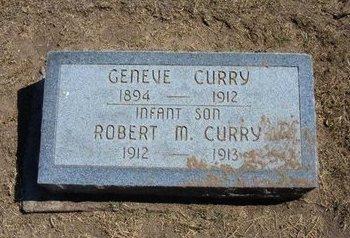 CURRY, GENEVE - Stevens County, Kansas | GENEVE CURRY - Kansas Gravestone Photos