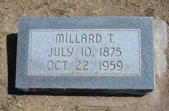 CURRY, MILLARD T - Stevens County, Kansas   MILLARD T CURRY - Kansas Gravestone Photos