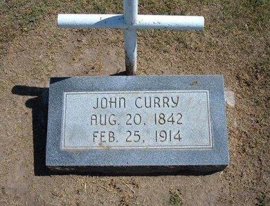 CURRY, JOHN (VETERAN UNION) - Stevens County, Kansas | JOHN (VETERAN UNION) CURRY - Kansas Gravestone Photos