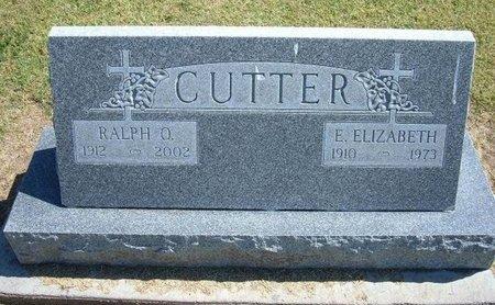 CUTTER, RALPH ORVILLE - Stevens County, Kansas | RALPH ORVILLE CUTTER - Kansas Gravestone Photos