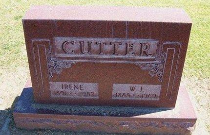 CUTTER, IRENE - Stevens County, Kansas   IRENE CUTTER - Kansas Gravestone Photos